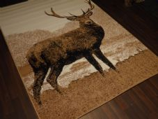 Rugs Approx 8x5ft 160cmx230cm Woven Backed Quality rugs stag New Large Beiges